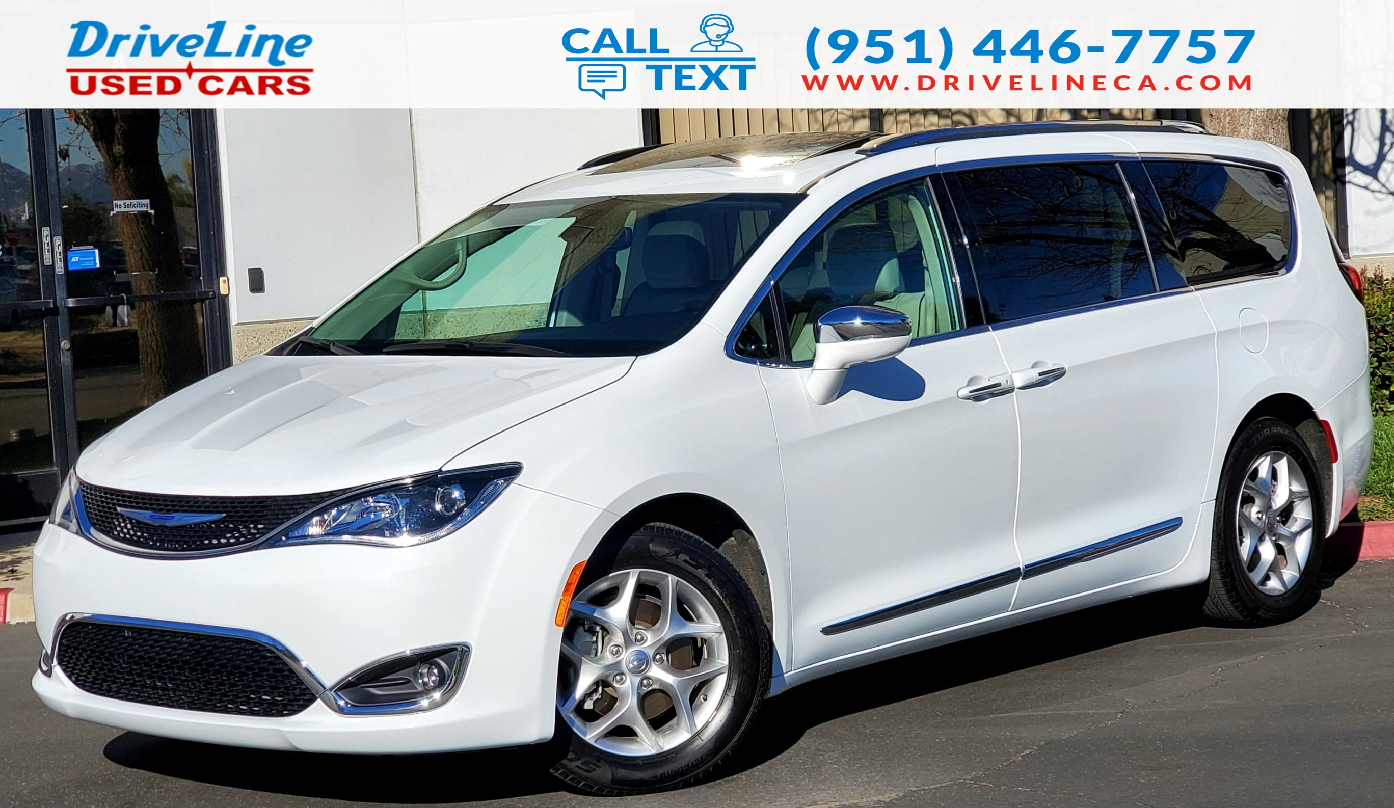 2019 Chrysler Pacifica Limited - Fully Loaded - $46,690 MSRP