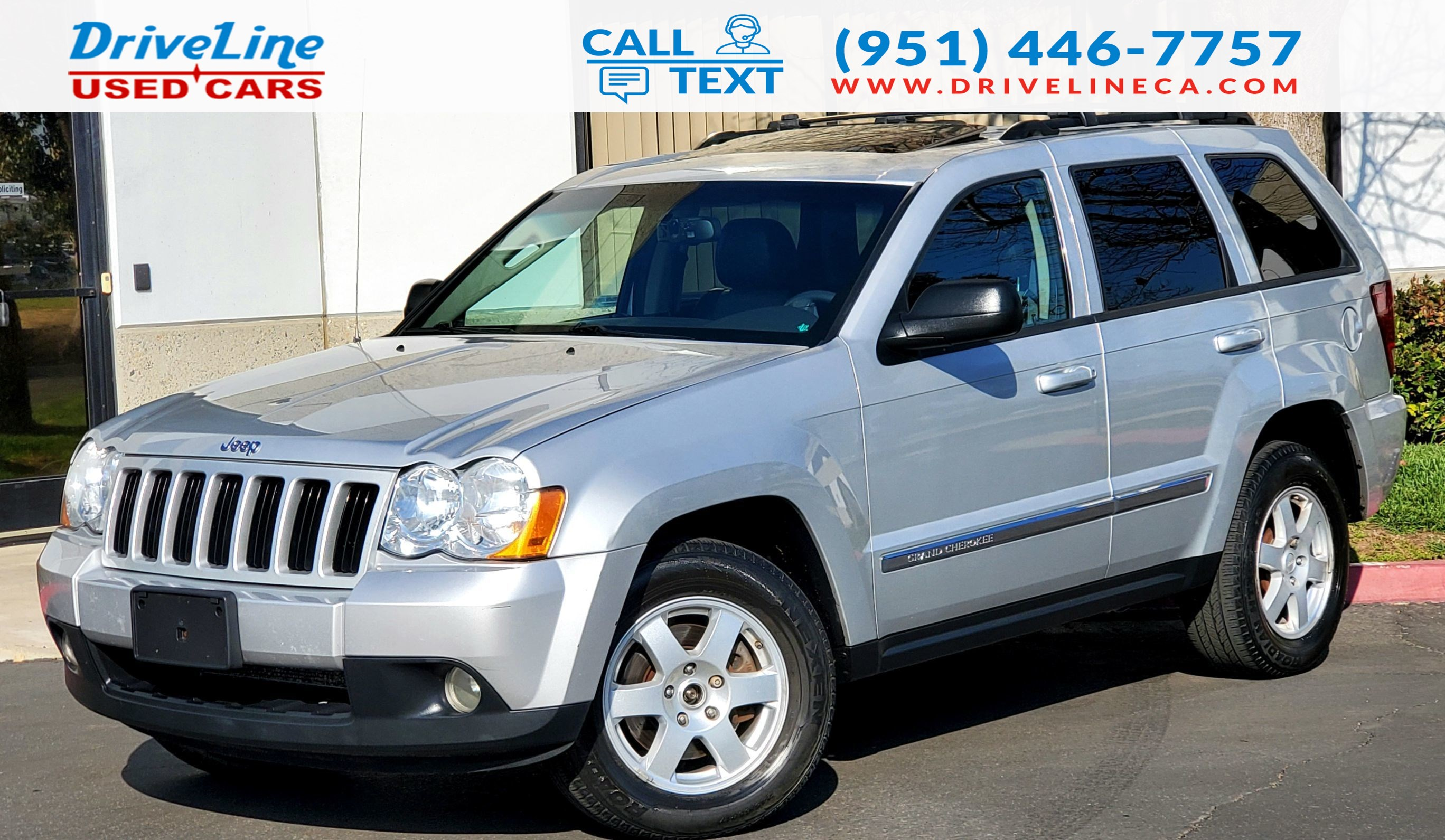2010 Jeep Grand Cherokee Laredo - 4WD - Leather Seats - $43,335 MSRP