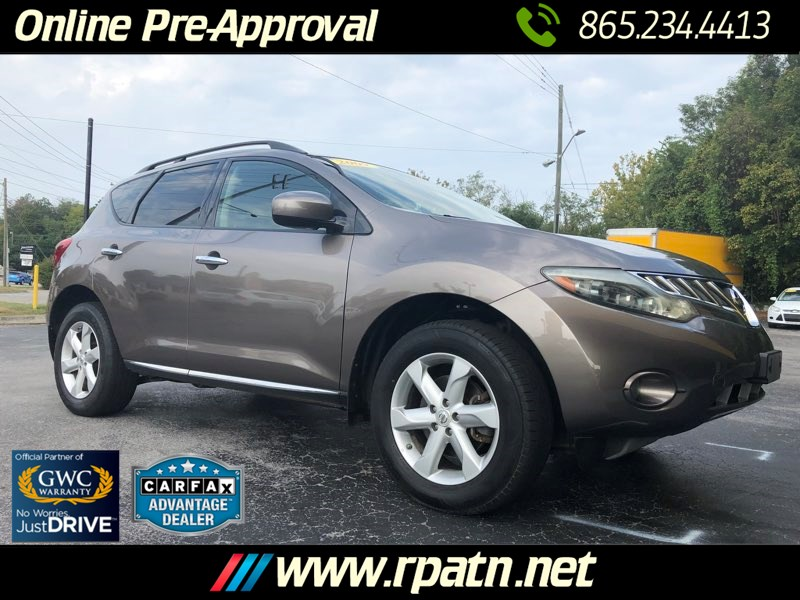 Used 2009 Nissan Murano Sl In Knoxville