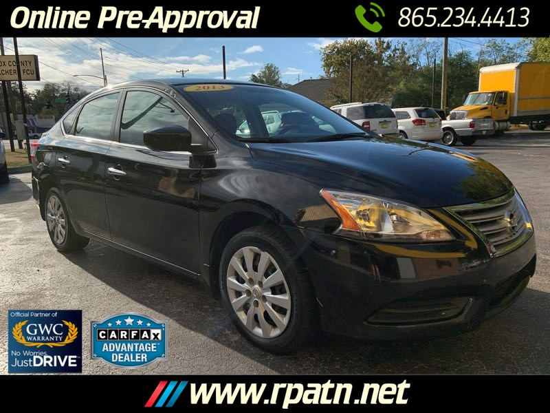 Used 2013 Nissan Sentra Fe S In Knoxville