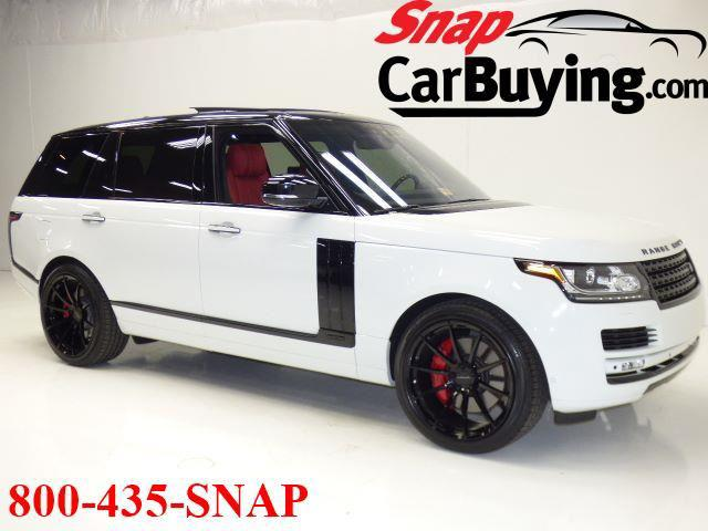 Range Rover Autobiography >> 2017 Land Rover Range Rover Autobiography Snap Car Buying