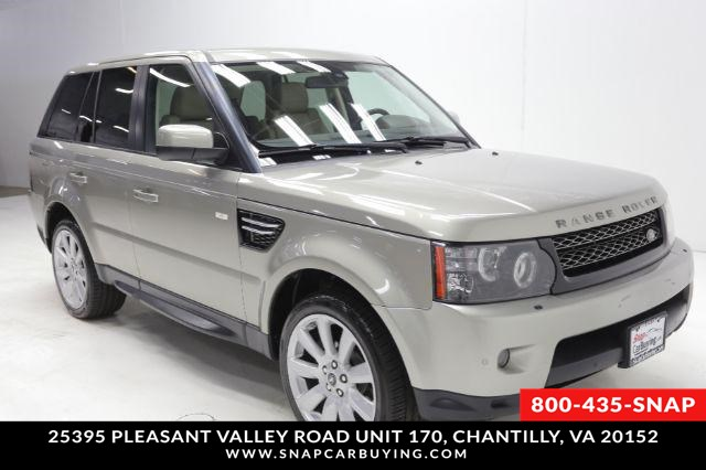 Land Rover Chantilly >> 2013 Land Rover Range Rover Sport Hse Snap Car Buying