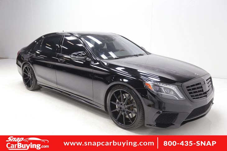 2014 Mercedes-Benz S 63 AMG 4MATIC Sedan
