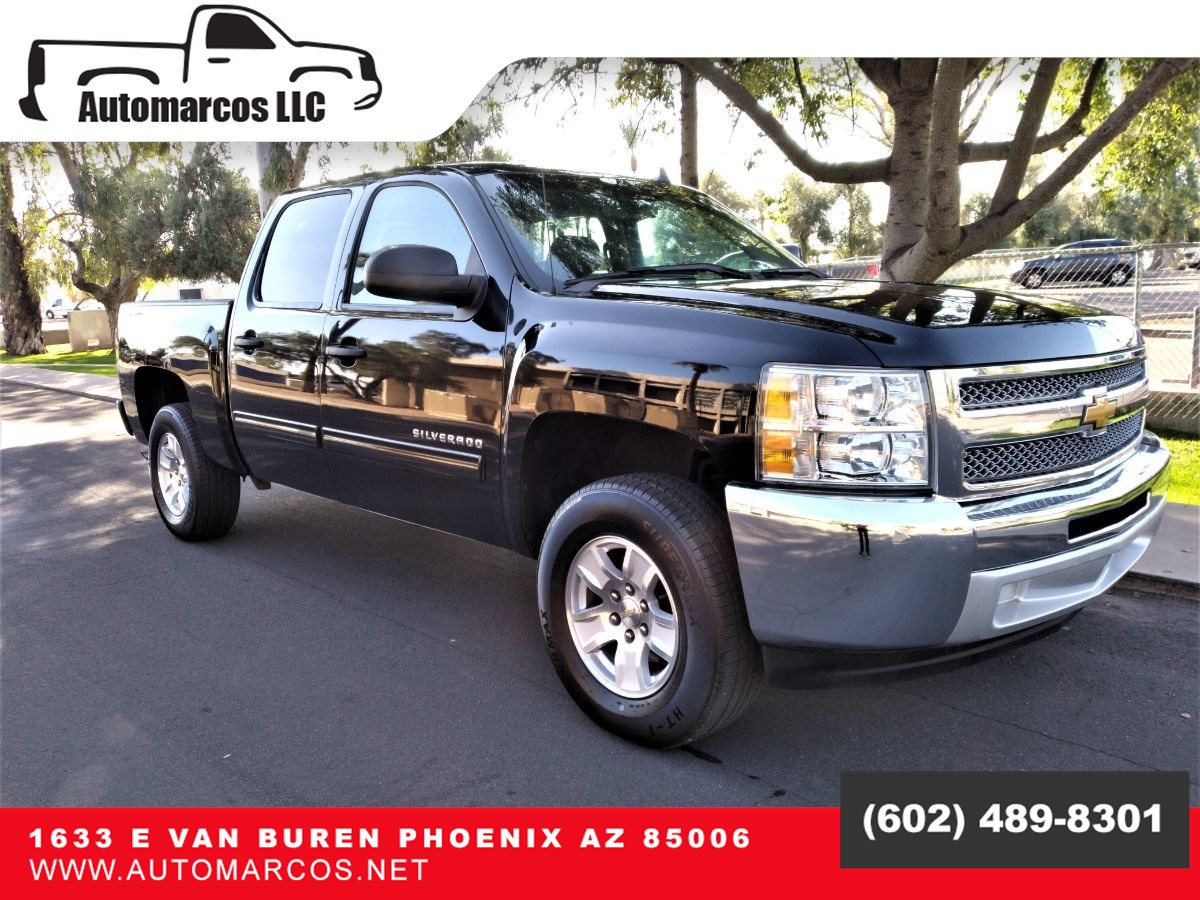 Used 2013 Chevrolet Silverado 1500 Crew Cab Lt 2wd In Phoenix