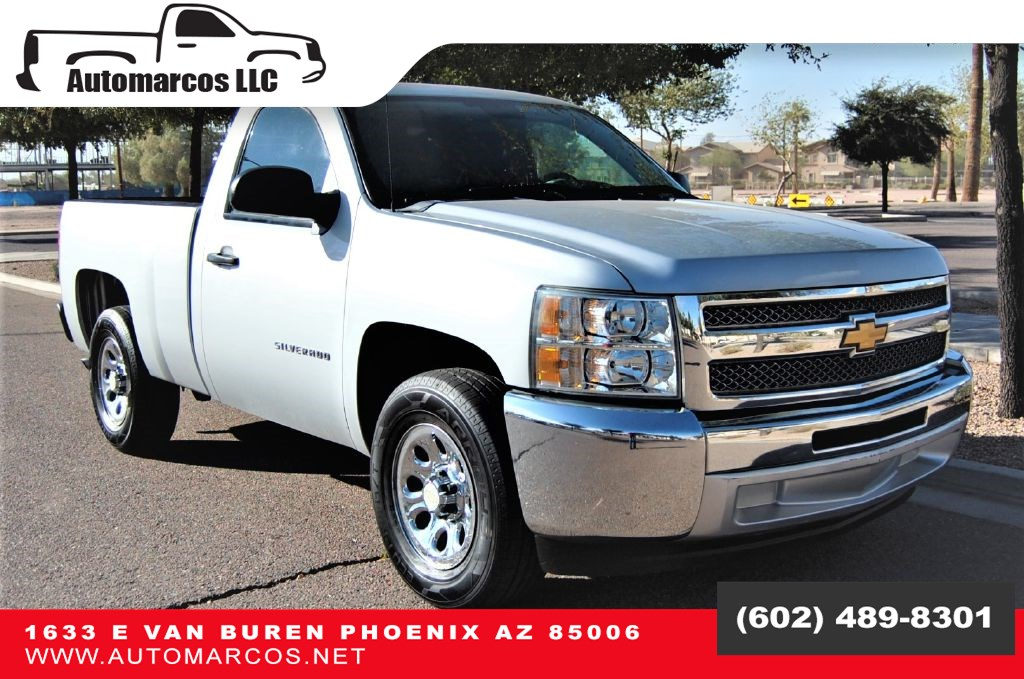 2012 Chevrolet Silverado 1500 Regular Cab Short Bed