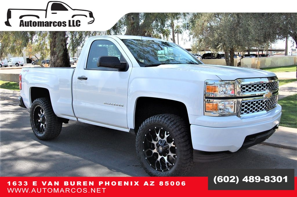 2015 Chevrolet Silverado 1500 Regular Cab Short Bed 4WD