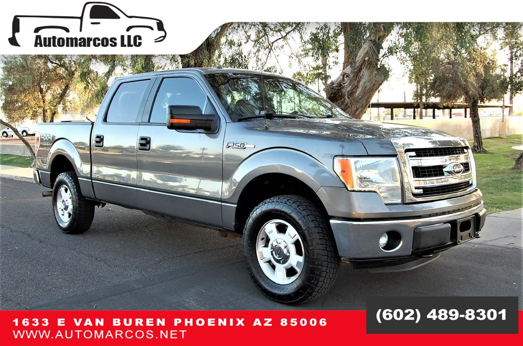 2013 Ford F-150 Super Crew XLT 4WD
