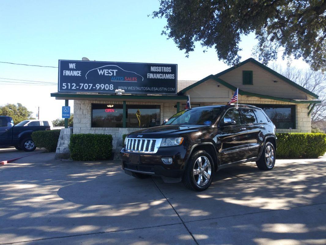 Sold 2011 Jeep Grand Cherokee Overland Summit In Austin