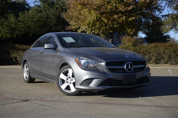 2016 Mercedes-Benz CLA 250 Coupe