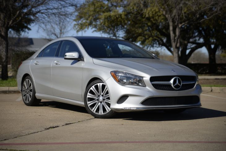 2017 Mercedes-Benz CLA 250 4MATIC Coupe