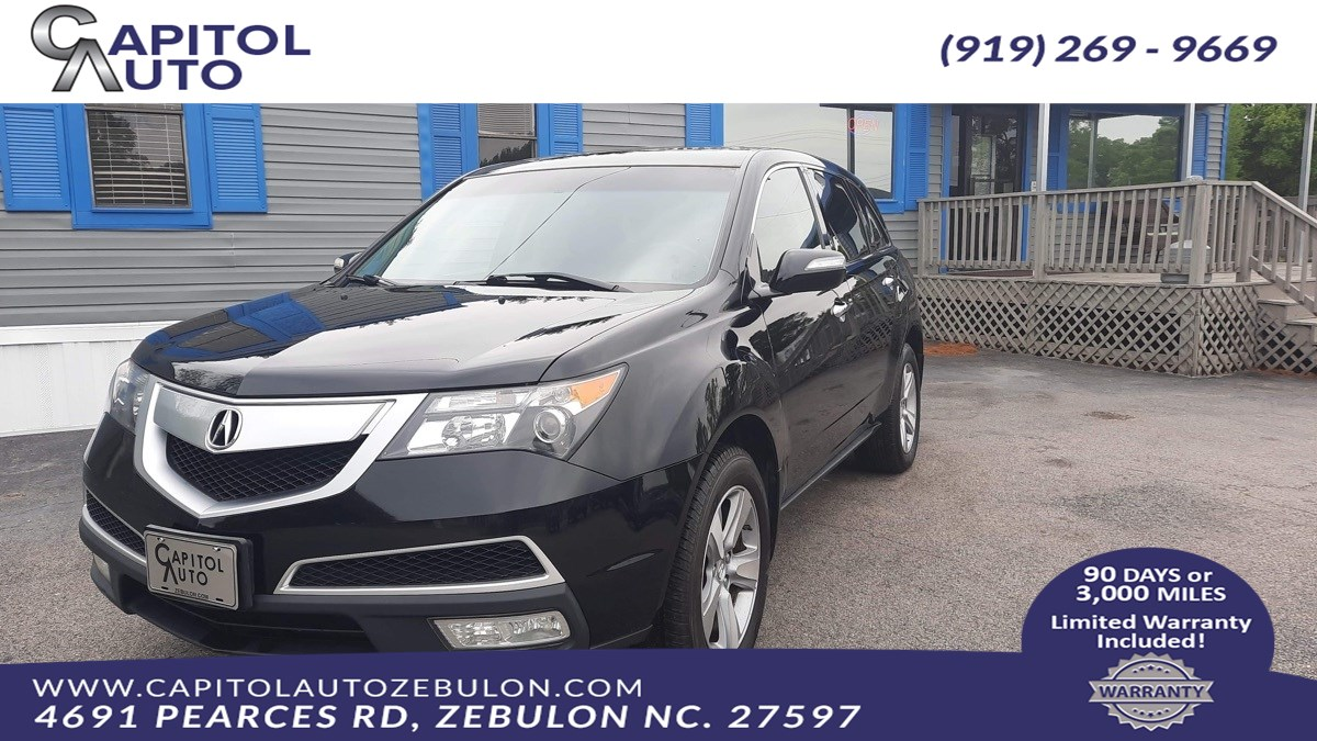 2012 Acura MDX Tech/Entertainment Pkg