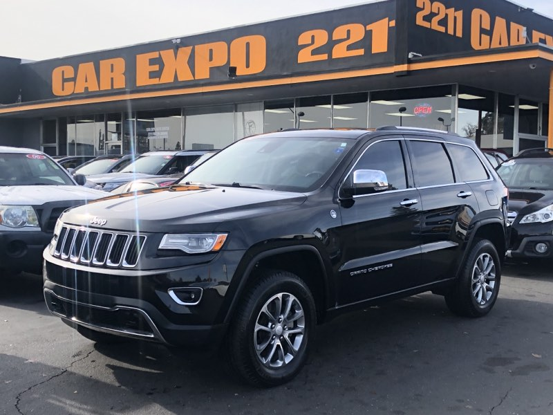 2014 Jeep Grand Cherokee Limited 4WD Navi fully loaded 5.7L