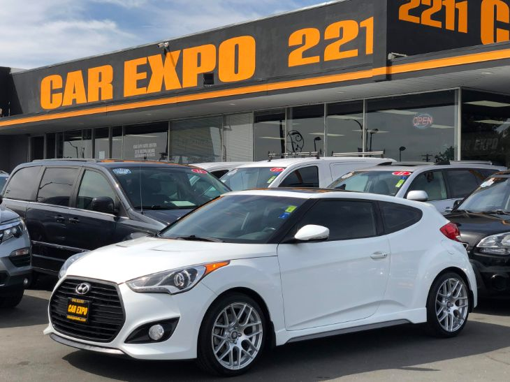2014 Hyundai Veloster Turbo 6 Speed Manual