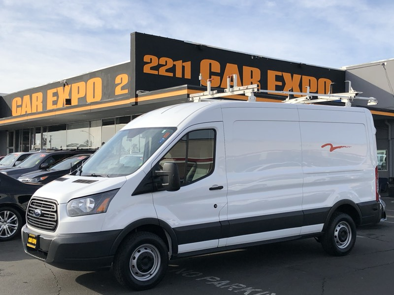 2015 Ford Transit 250 Cargo Van Medium Roof & Roof Rack
