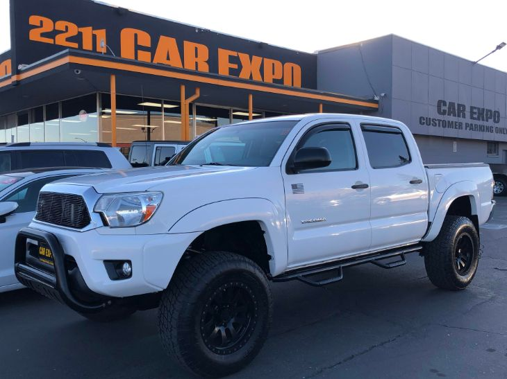 2012 Toyota Tacoma SR5 - SB - 4x4 - off road wheels and tires!
