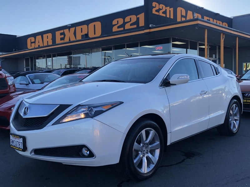 2010 Acura ZDX Tech Pkg AWD Panoramic Sunroof