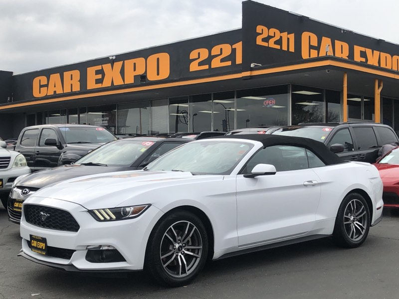2016 Ford Mustang EcoBoost Premium Convertible!