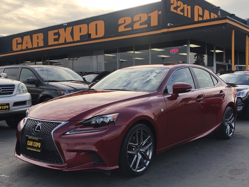 2015 Lexus IS 250 F Sport Pkg Navigation