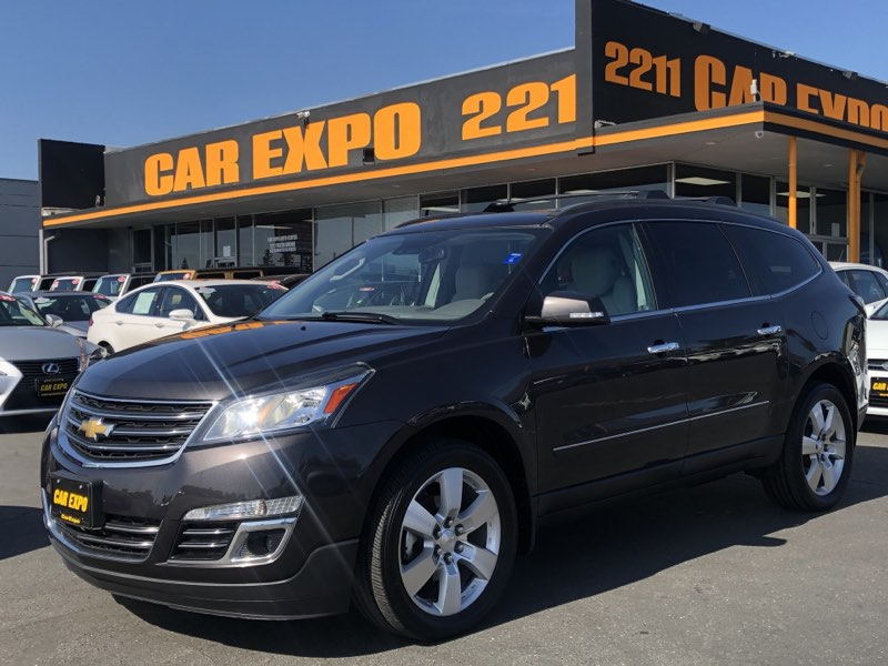2014 Chevrolet Traverse LTZ - AWD - Navi - 3 Row Seats