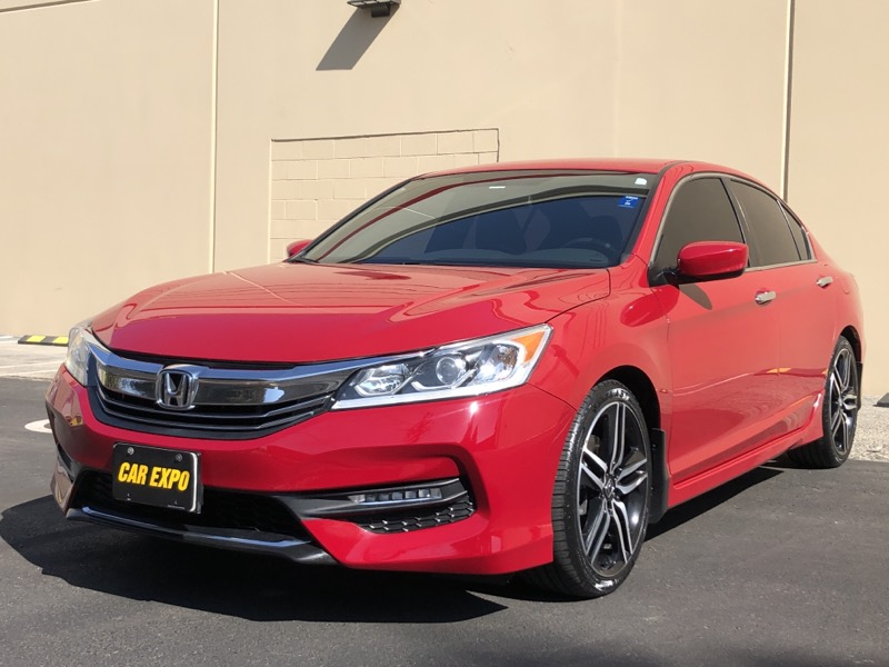 2017 Honda Accord Sedan Sport - 1 Owner