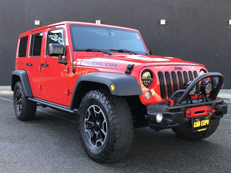 2015 Jeep Wrangler Unlimited Rubicon Hard Rock 4WD