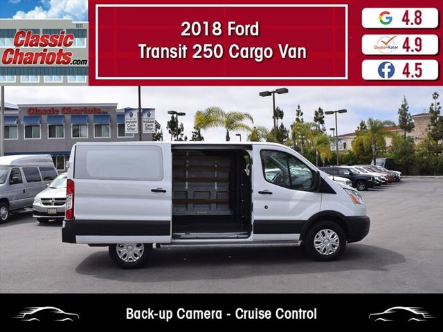 2018 Ford Transit Van T-250 Low Roof Cargo Van - Classic Chariots