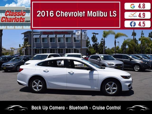 2016 Chevrolet Malibu LS - Classic Chariots