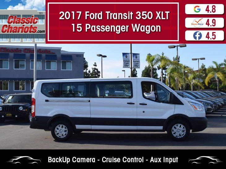 2017 Ford Transit 350 Wagon >> 2017 Ford Transit Wagon 350 Xlt 15 Passenger Wagon Classic Chariots