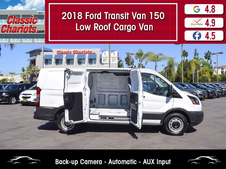 2018 Ford Transit Van 150 Low Roof Cargo Van