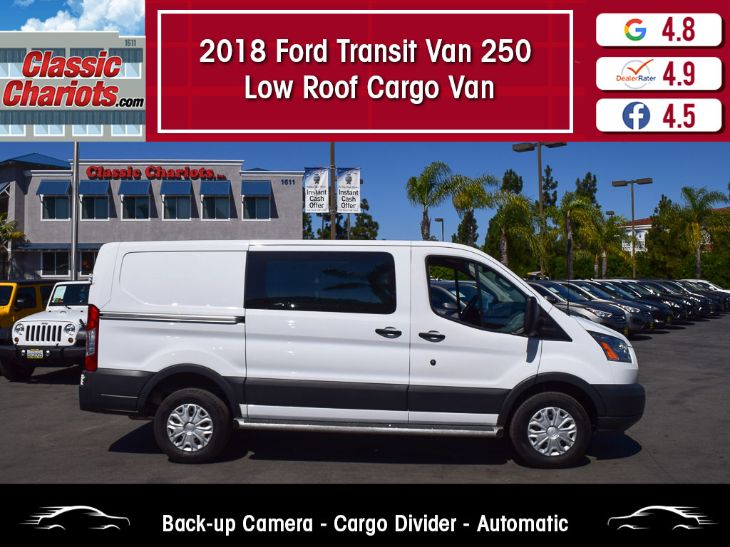 2018 Ford Transit Van 250 Low Roof Cargo Van