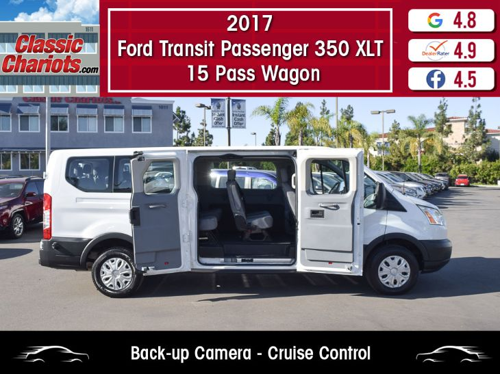 2017 Ford Transit 350 Wagon >> 2017 Ford Transit Wagon 350 Xlt 15 Passenger Classic Chariots