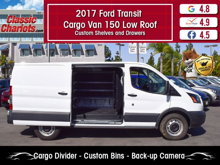 2017 Ford Transit 150 Cargo Van >> 2017 Ford Transit Cargo Van 150 Low Roof Classic Chariots