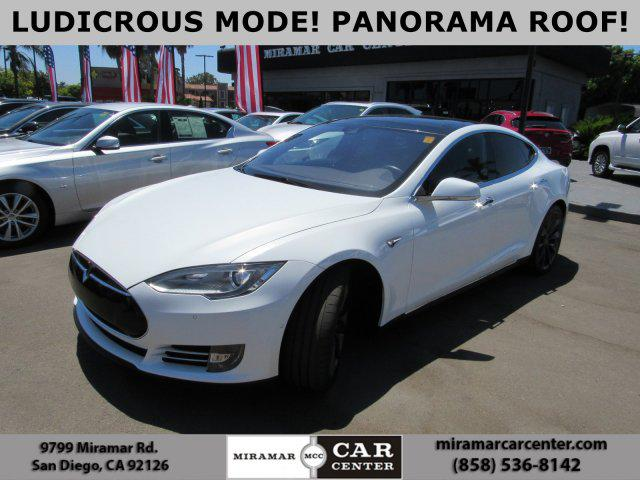 2016 Tesla Model S P90d Miramar Car Center