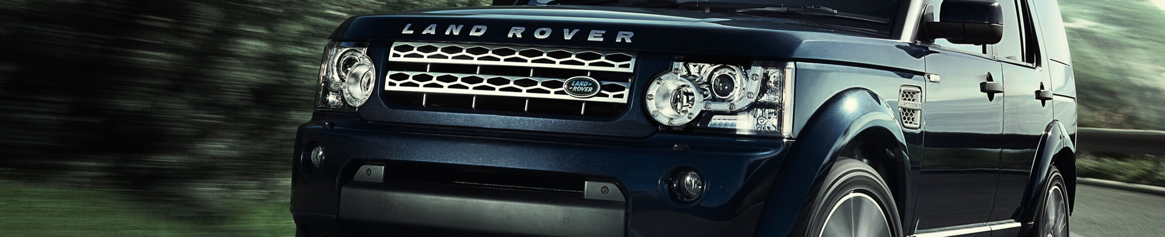 Used Land Rover Vehicles Banner