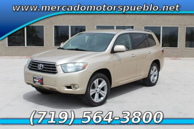2008 Toyota Highlander SPORT UP