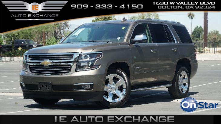 2016 Chevrolet Tahoe LTZ 2WD (w/ Trailer Package, Apple CarPlay, Android Auto)