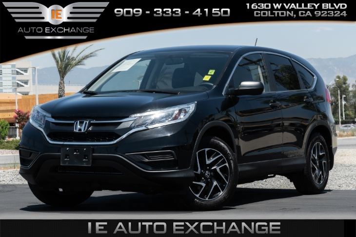 2016 Honda CR-V SE (w/ Back-up Camera, Bluetooth)