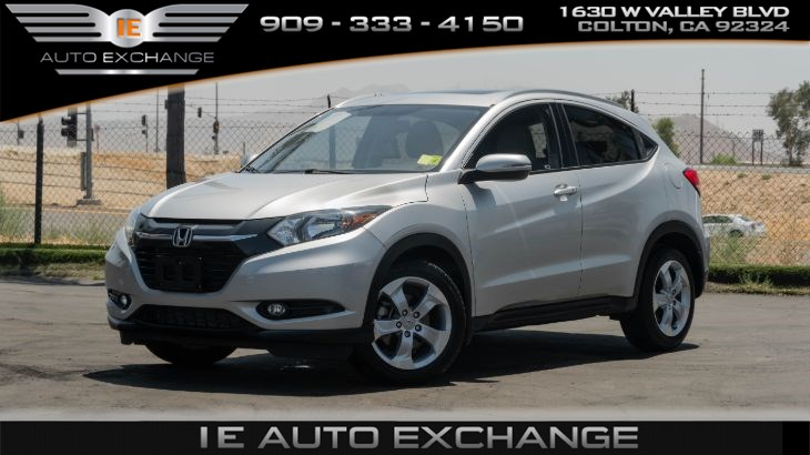 2016 Honda HR-V EX-L (w/ Navigation, Heated Front Seats, Sun/Moonroof)