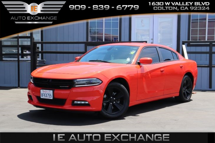 2016 Dodge Charger SXT Blacktop Edition (w/ Quick Order Package, Remote Engine Start)
