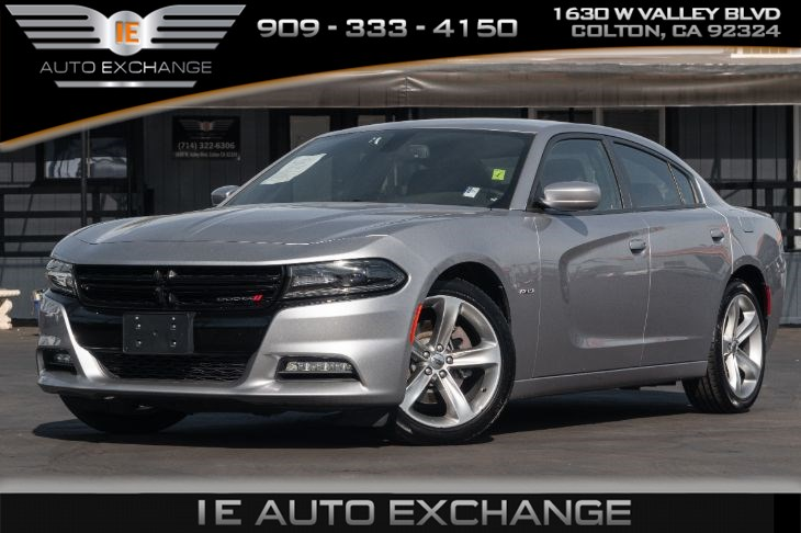 2017 Dodge Charger R/T (w/ Quick Order  Package, Billet Clearcoat)