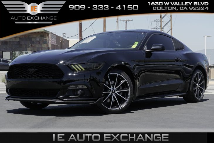 2016 Ford Mustang EcoBoost (w/ Turbocharged Engine, Back-up Camera)