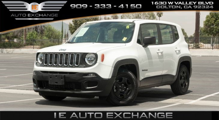 2018 Jeep Renegade Sport (w/ Quick Order Package, Remote Engine Start)