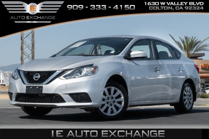 2017 Nissan Sentra S (w/ Bluetooth, Auxiliary Port)