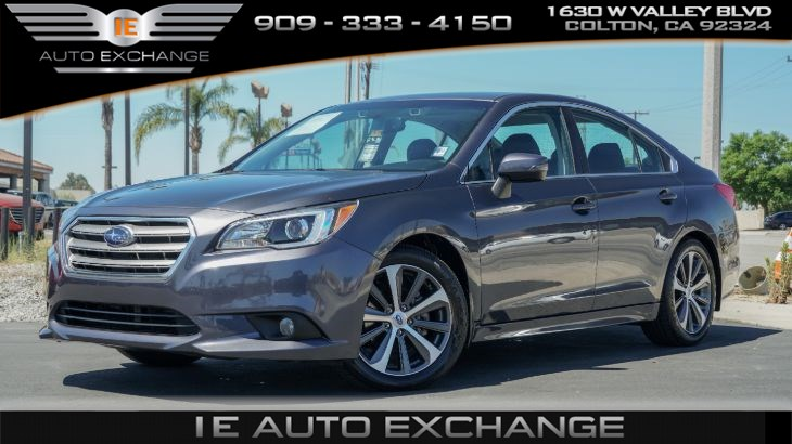 2016 Subaru Legacy 2.5 Limited AWD (w/ Moonroof Package, Popular Package, Navigation)