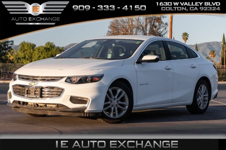 2017 Chevrolet Malibu LT (w/ Bluetooth, Premium sound, Back-up Camera)