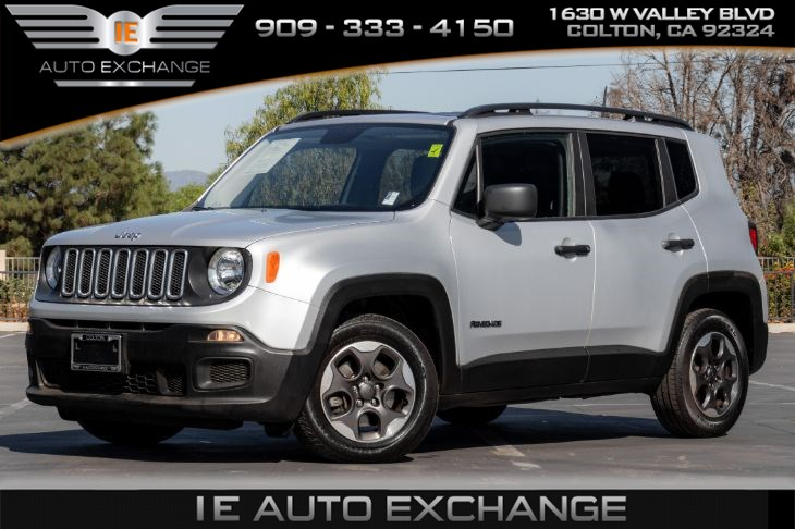 2017 Jeep Renegade Sport (w/ Sport Appearance, Quick Order Package)