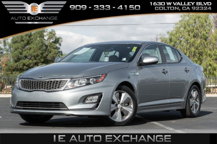 2014 Kia Optima Hybrid EX (w/ Heated / Cooled Seats, Back-up Camera)