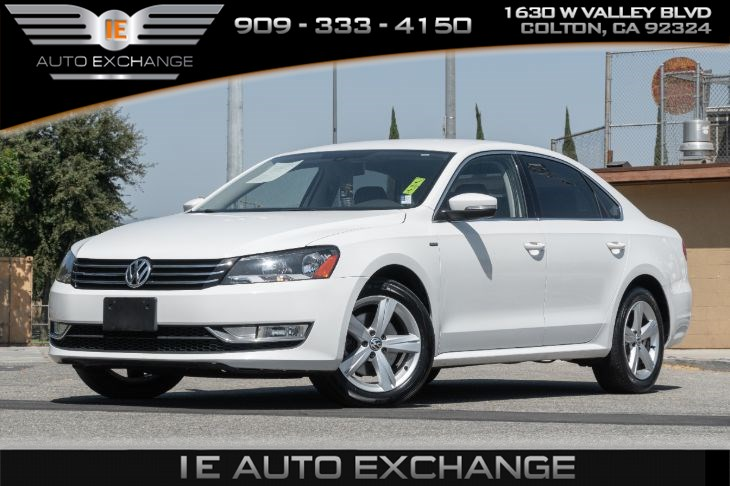 2015 Volkswagen Passat T PZEV Limited Edition (w/ Heated Front Seats, Back-up Camera, Bluetooth)