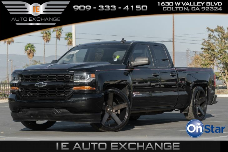 2016 Chevrolet Silverado 1500 2WD Work Truck Black Out Edition (w/ Suspension Package, Back-up Camera, Bluetooth)