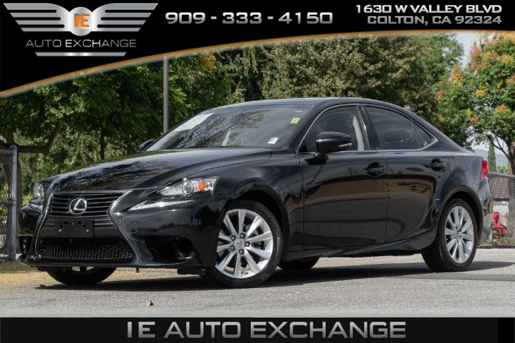 2015 Lexus IS 250 Base (w/ Back-up Camera, Tinted Windows, Back Support)